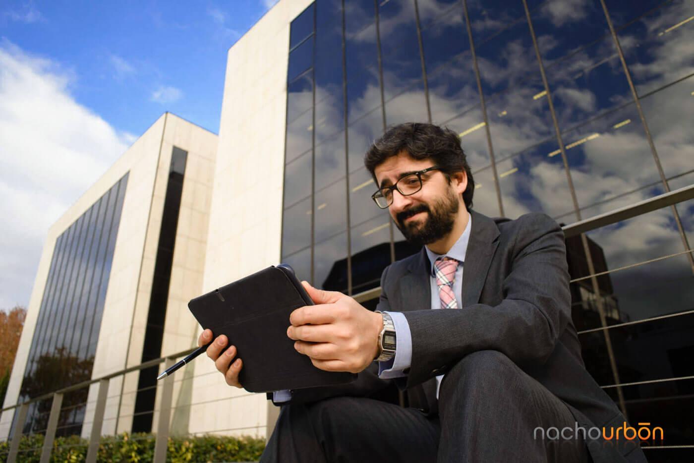 retrato empresario industrial fotógrafo corporativo banco imagen Madrid tres_cantos