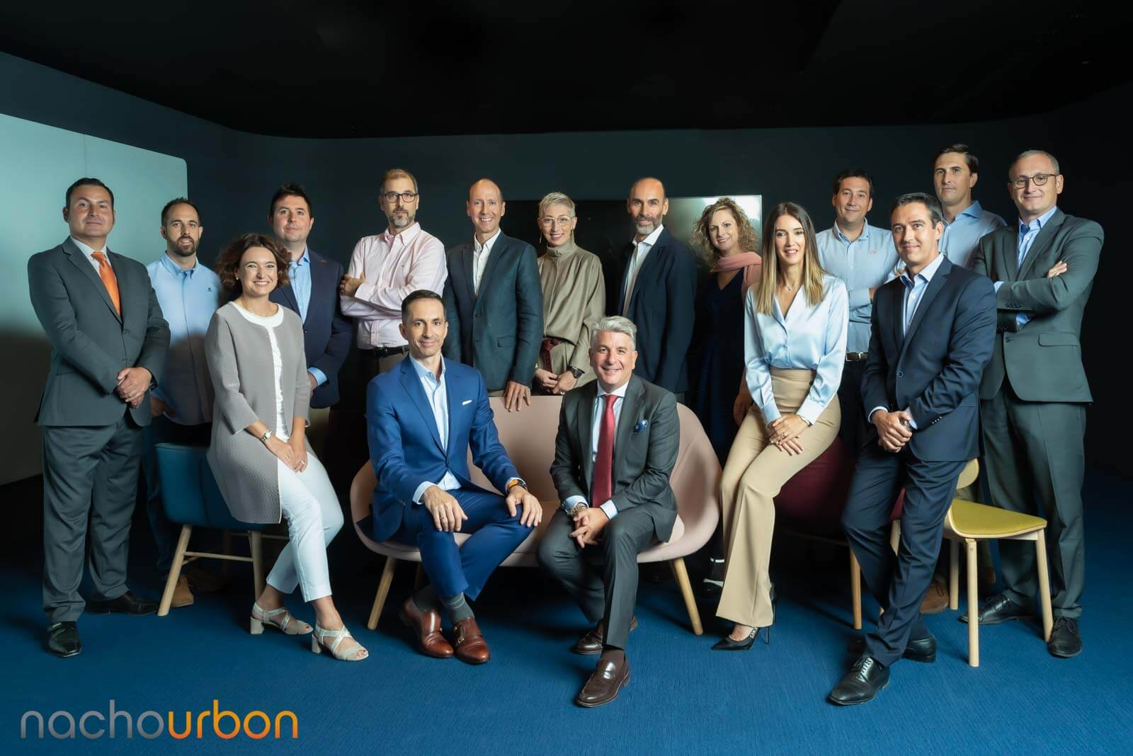 retratos grupo grande corporativo especialista